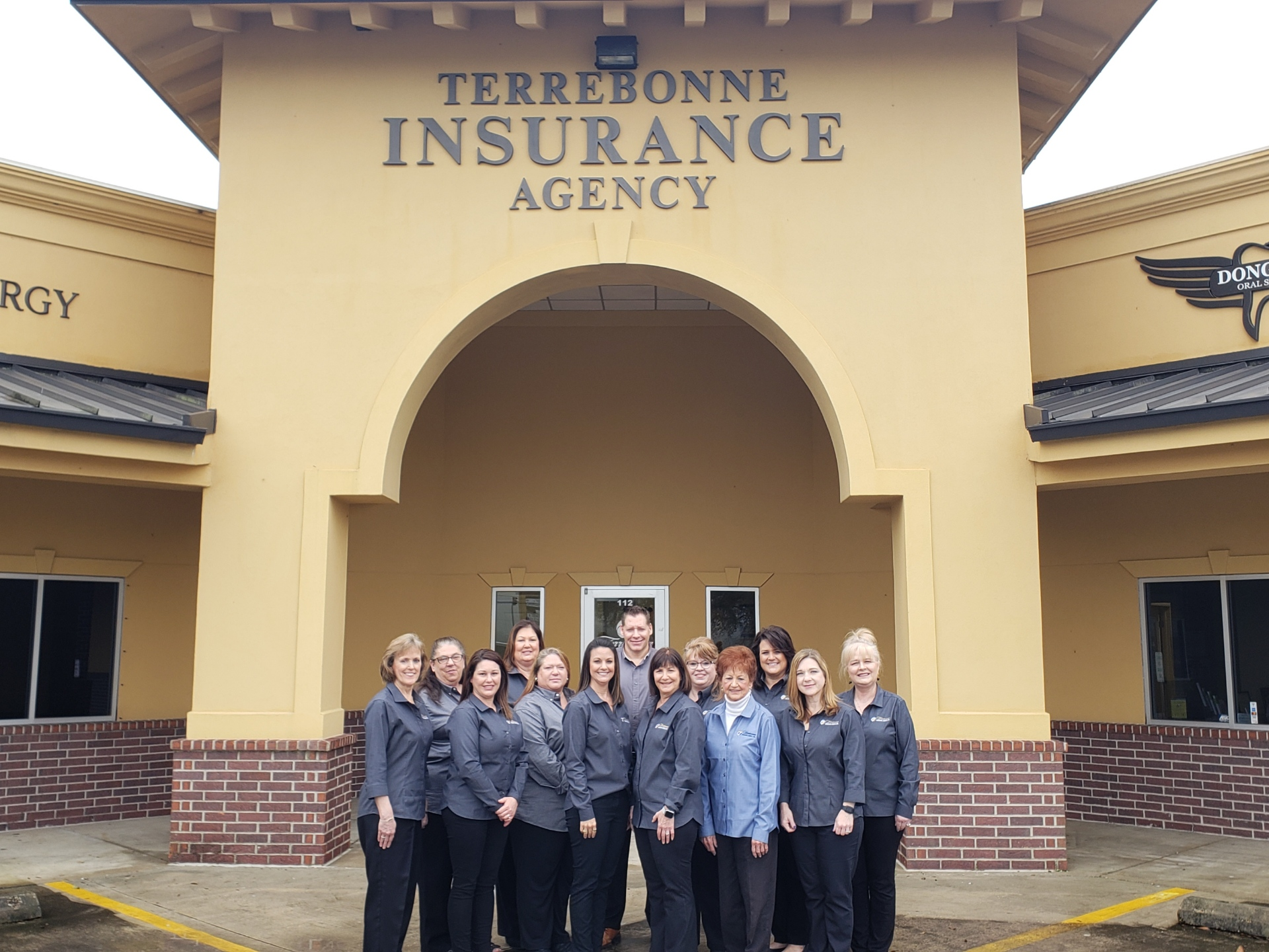 History of Terrebonne Insurance Agency with Kelly and Kitty